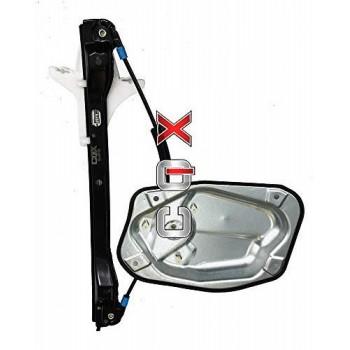 Mecanisme leve vitre électrique,arrière gauche,VW, Golf 5,  2007-2009, Rabbit '2006-2009